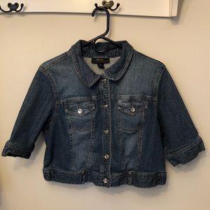 Style & Co Jean Jacket XL EUC